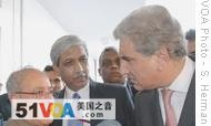Pakistani Foreign Minister talks to Indian counterpart, 31 Jul 2008
