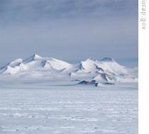 The Leverett Glacier on Antarctica is about 100 kilometers long