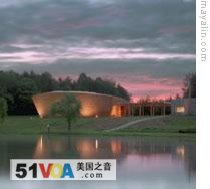The Children's Defense Fund hired Maya Lin to design this religious center in Tennessee