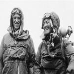Sardar Tenzing Norgay of Nepal and Edmund P. Hillary of New Zealand, left, were first to climb Everest