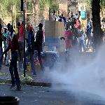 ANC Youth League Supporters Protest Violently in Johannesburg
