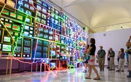 Nam June Paik Turned Video into an Object of Art
