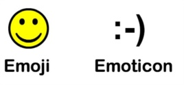 Emoji vs. Emoticon