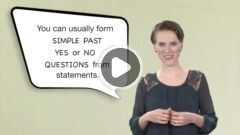 Simple Past Yes/No Questions