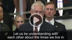 Secretary of State Rex Tillerson Address to Career Diplomats